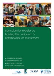 Curriculum for Excellence: Building the Curriculum 5 - Fife Council ...
