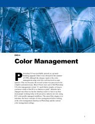 Color Management - Adobe Photoshop for Photographers