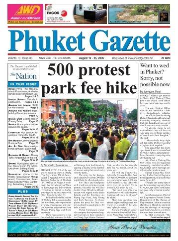 Gazette Classads - Phuket Gazette