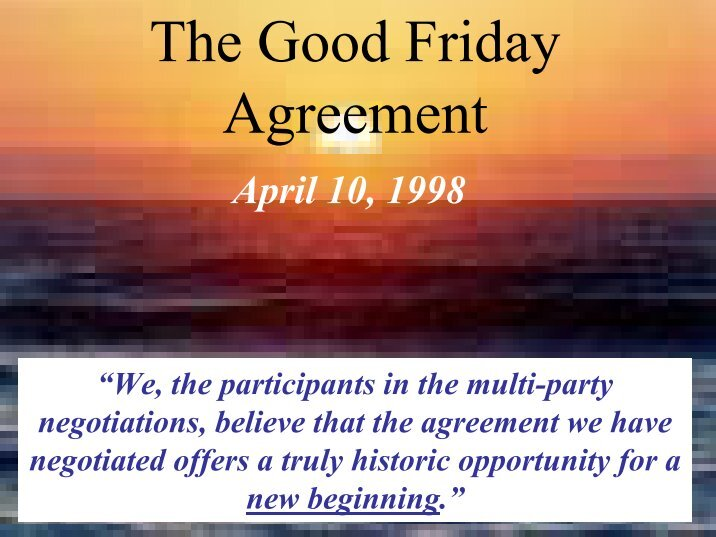 problems that still exist in the good friday agreement Biographical information and an explanation of his major ideas 24-9-2016 troubleshooting macos sierra problems macos sierra updated on every mac in the office without a problem.