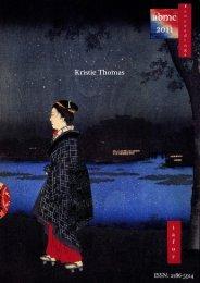 Kristie Thomas - IAFOR