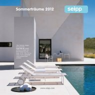 Sommerträume 2012 - Seipp Wohnen GmbH