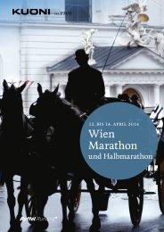 Wien Marathon 2014 - Kuoni Reisen