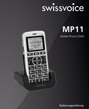 Swissvoice MP11 - Sehhelfer