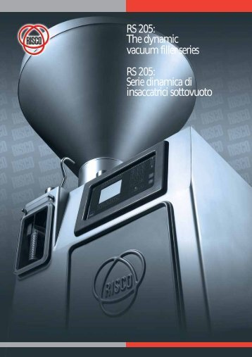 RS 205: The dynamic vacuum filler series RS 205: Serie ... - Columbit