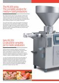 RS 205: The dynamic vacuum filler series RS 205: Serie ... - Columbit - Page 2