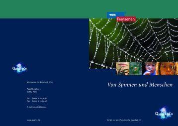 Von Spinnen und Menschen