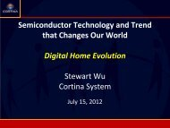 Semiconductor Technology and Trend that Changes Our World ...