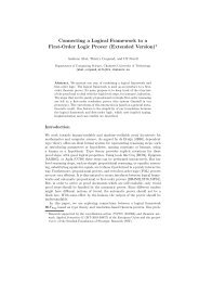 Connecting a Logical Framework to a First-Order Logic Prover ...