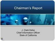 my recent briefing (PDF, 72 KB) - Cioarchives.ca.gov - State of ...