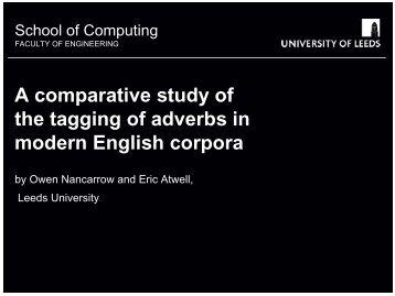 PDF-slides - School of Computing