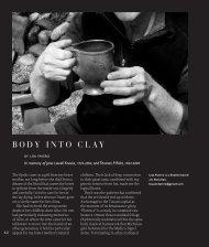 BODY INTO CLAY - Studio Potter