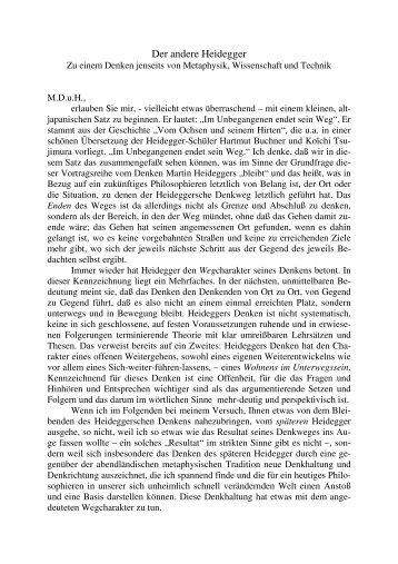 Link zum Vortragstext - Philosophische Gesellschaft Bremerhaven