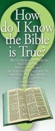 Bible True - May 21, 2011 Began Judgment Day