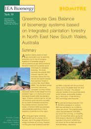 brochure - the IEA Bioenergy Task 38 Website