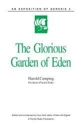 The Glorious Garden of Eden - Refute Camping