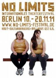 Download der Festival- Broschüre als PDF - No Limits