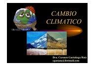 Cambio Climático. Perú - Organismo Andino de Salud