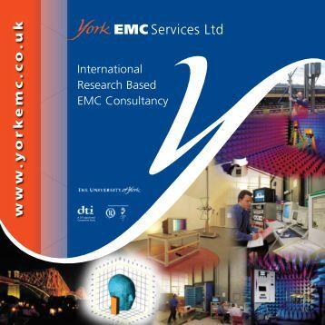Consultancy Brochure - York EMC Services Ltd
