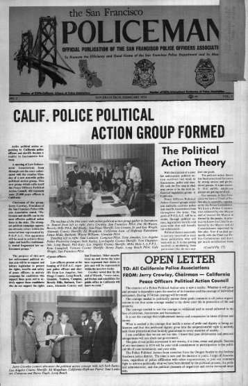 February 1974 - San Francisco Police Officers Association