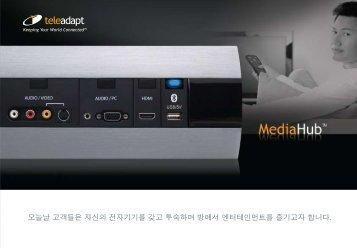 오늘날 고객들은 자신의 전자기기를 갖고 투숙하며 방 ... - TeleAdapt