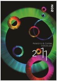 Relatório e Contas Individuais de 2011 - Zon