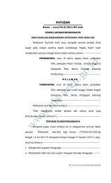 putusan - MS Aceh