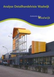 Analyse Detailhandelvisie Waalwijk - Gemeente Waalwijk