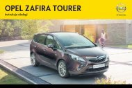Opel Zafira Tourer 2013 – Instrukcja obsługi – Opel Polska