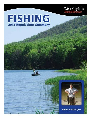 Fishing Regulations - West Virginia Department of Commerce