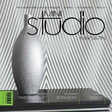 MAISON & OBJET - Mini Studio Magazin