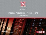 Proposal Preparation, Processing and Submission - Office of ...