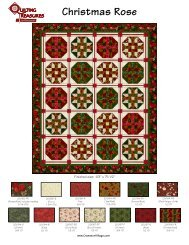 Christmas Rose Quilt - Sewing.org