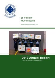 2012 Annual Report Primary template_v1_green - St. Patrick's ...