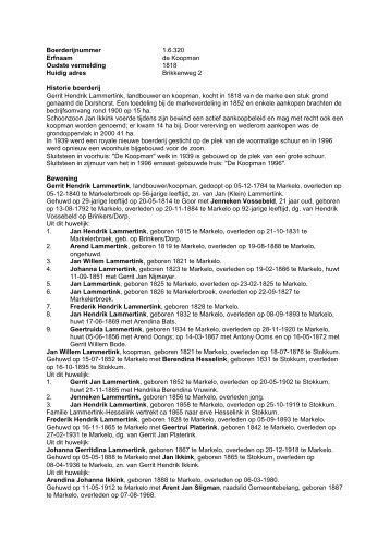 1.6.320 Boerderij de Koopman, Brikkenweg 2 - De Hofmarken