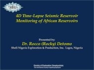 Lecture slides - Society of Exploration Geophysicists
