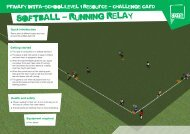 Softball Challenge - School Games