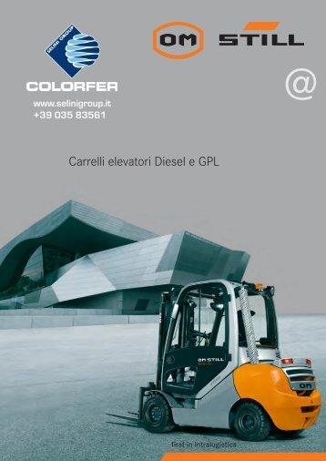 Carrelli elevatori Diesel e GPL - Vendita carrelli elevatori Bergamo