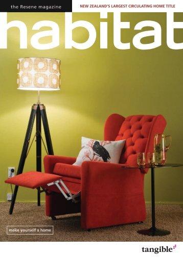 the Resene magazine - Tangible Media