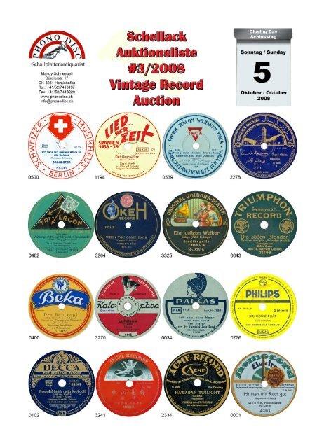 Auktionsliste total 2008-03 mit Bildern - Phonodisc