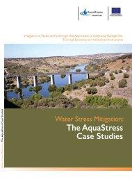 AquaStress booklet on Water Stress Mitigation Case Studies
