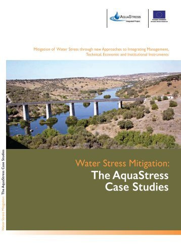 AquaStress booklet on Water Stress Mitigation Case Studies