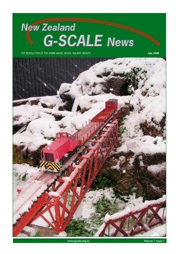 G Scale News Jul 2006