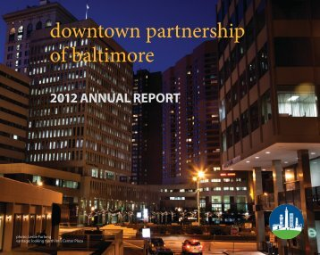 2012 Annual Report - Downtown Baltimore