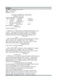 Cassazione civile sez. III, sentenza del 19 luglio 1997, n ... - Territorio