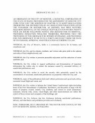 ORDINANCE NO. 2012 - 11 AN ORDINANCE OF ... - City of Moscow