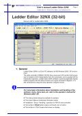 USER'S MANUAL Ladder Editor 32NX - Motoman - Page 7