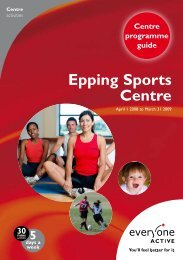 Epping Sports Centre - Everyone Active
