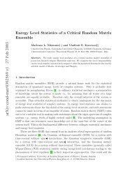 arXiv:cond-mat/0302569 v1 27 Feb 2003 - Exordio