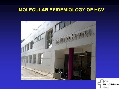 Molecular epidemiology of HCV - Viral Hepatitis Prevention Board